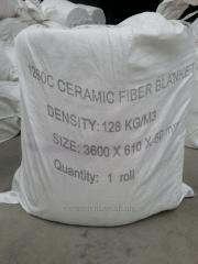 Ceramic fiber - insulating mats