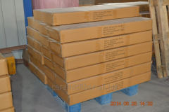 Thermal insulation board with a working t-1,250 °