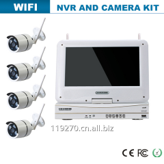 Hot wireless nvr and ip camera