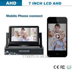 8 CH 720P Full HD Hybrid AHD DVR NVR