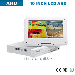 4 Ch 960H CCTV Home AHD DVR With 7 Inch Screen