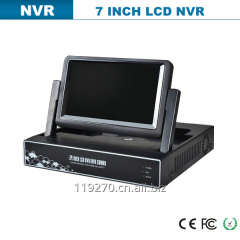 H.264 8CH Full LCD DVR / NVR With Free CMS