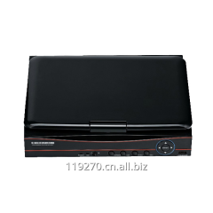 8CH h 264 software dvr with built-in lcd monitor