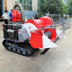 Small Combined Rice Harvester Manufacturer 4LZ-0.8