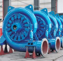 混流式水轮发电机