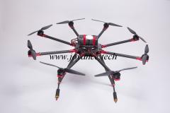 Professional aerial imaging drone with SLR camera