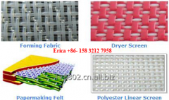 Forming fabric, press felt, Dryer screen used for