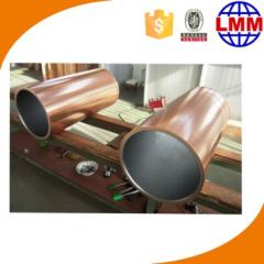Copper mould tube and mould