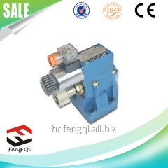 Hydraulic electromagnetic safety valve Rexroth
