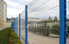 Commercial curvy welded mesh panel fencing direct