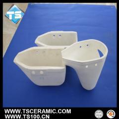 Customized Aluminum Titanate Ceramic Ladle for