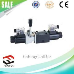 He electromagnetic reversive valve with the