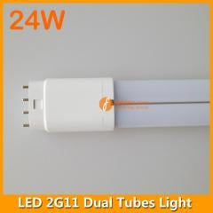 4pins 24W 542mm LED 2G11 Dual Tubes Light