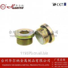 Carbon steel screw drain plug