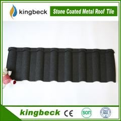 Colorful stone coated metalr roof tile