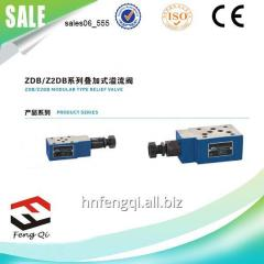 Hydraulic valve superimposed relief valve ZDB /