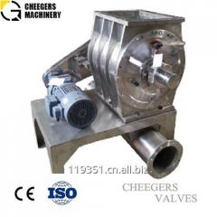 Stainless Steel Drop Through Pneumatic Rotary Valve