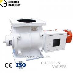 Smart Self-cleaning Rotary Airlock Valve