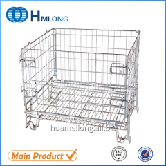 F-19 Industrial metal storage folding container