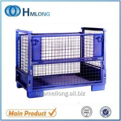 T-7 Metal mesh pallet container for auto parts