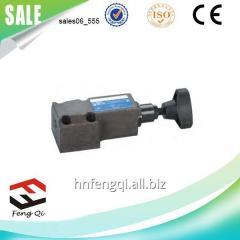 电磁液压控制器  直动式溢流阀DG