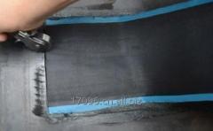 Why repair strip easily be scraped from belt