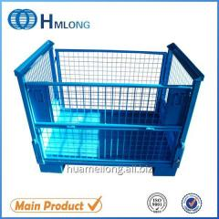 T-7 Industrial durable storage steel pallet container for auto parts