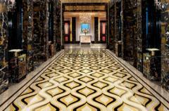 Magic tiles, marble stone, water jet pattern, flooring, interior decoration, wall tiles - CM17