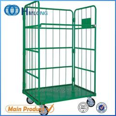 JP-1 Warehouse wire mesh collapsible trolley