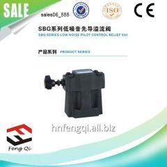 控制活门 低噪音先导式溢流阀SBG系列