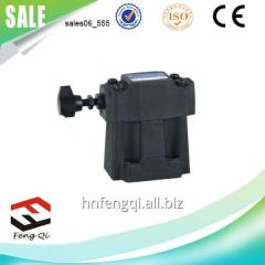 Low noise hydraulic tools Pilot Operated Relief
