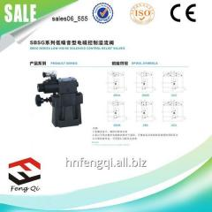 液压控制器 低噪音电磁控制溢流阀SBSG系列