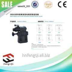 Low-noise hydraulic components solenoid SBSG