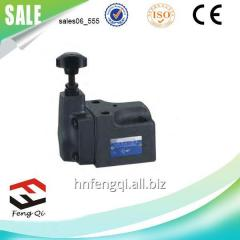 BG solenoid valves pilot operated relief valve