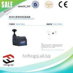 电磁液压控制器 先导式溢流阀BG(RV)系列