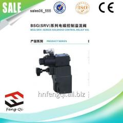 BSG fittings solenoid control relief valve (SRV)