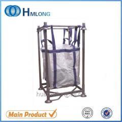 M-6 Big bag support Warehouse galvanized stacking pallet converter