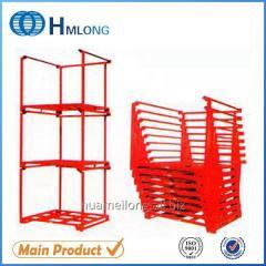 Nestainer heavy duty metal steel plate stacking rack shelving