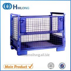 T-7 Storage steel pallet container for Auto industry auto parts