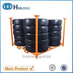 HML6060 stacking commercial spare rack for avto tires storage