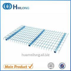 Inverted U channel Metallic step beam racking zinc wire mesh deck