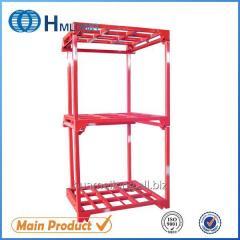Nestainer Warehouse storage pallet steel stacking rack