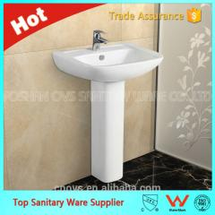 A7103 hot sale best price pedestal basin, art