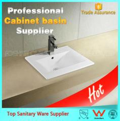 China sanitary ware thin basin with different