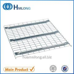 F channel welded grid good sale support decking for logistic storage
