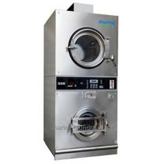 Coin Operated Laundry Washing and Dryer Machine