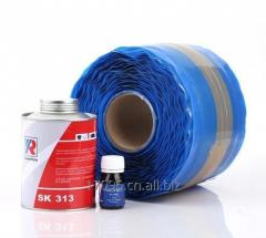 Conveyor belt repair adhesive