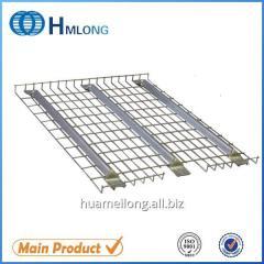 F channel Steel galvanized wire mesh us standard flared deck for racks