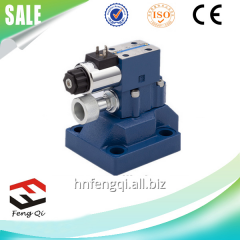 Hydraulic valve flow of hydraulic valves