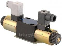 Hydraulic valve controls the hydraulic valve